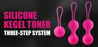 New! Silicone Kegel Toner