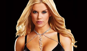 Ann Devine Rhinestone Princess Collar sparkles and draws eyes to your spectacular curves.