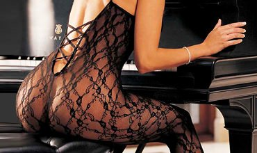 Thigh highs, garters, fishnets, sheer or lace, are some of the perfect ingredients to create a sexy look.