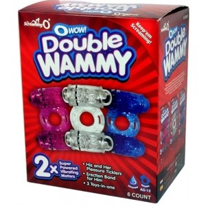 The O Wow Double Wammy Assorted Colors - 6 Count Display