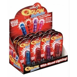 OGlow Bullets Display 12 Pieces