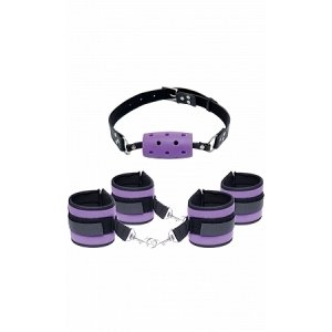 Fetish Fantasy Series Purple Pleasure Set - Purple