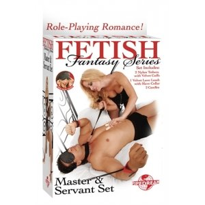 Fetish Fantasy Series Master And Servant Set - Red