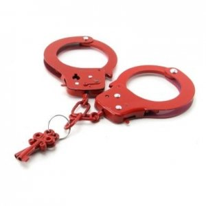Fetish Fantasy Series Designer Handcuffs - Red