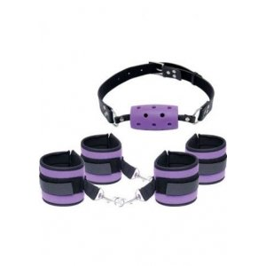 Fetish Fantasy Series Purple Pleasure Bondage Set - Purple