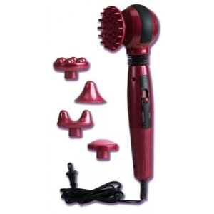 Infrared Electric Massager - Red