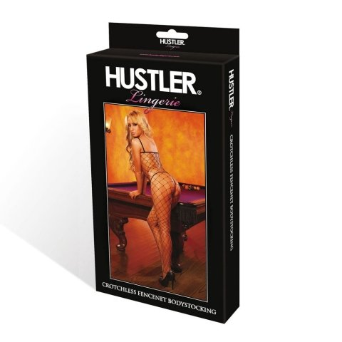 Hustler Lingerie Seamless Diamond Net Bodystocking