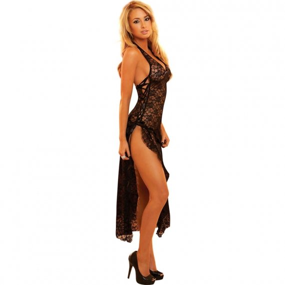 Hustler Lingerie Sexy Lace Gown