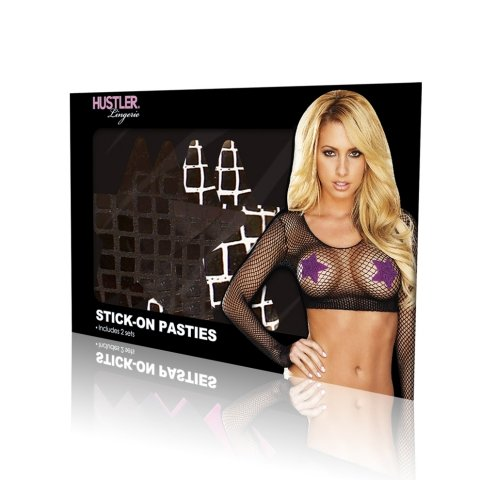 Hustler Lingerie Stick-on Pasties - Star