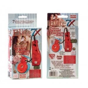 Elite 7X 7 Function Sexual Exciter - Ruby