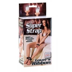 Lovers Super Strap Lovers Ribbon - Black