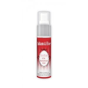 Adam and Eve Strawberry  Clit Sensitizer Gel - 1 Oz.