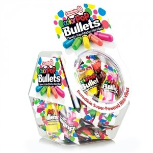 Screaming O Color Pop  Bullets - Assorted Colors - 40 Count Fishbowl