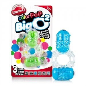 The Screaming O Color Pop Big  - O 2 Assorted Colors - Each