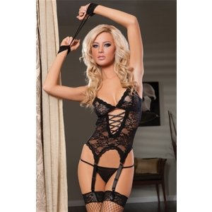 Midnight Affair Cami Set -  Black - One Size