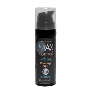 Max 4 Men Control Prolong  Gel - .5 Oz.