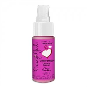 Crazy Girl Cherry Bomb Clitoral Arousal - Cherry Knockout - 1 oz.