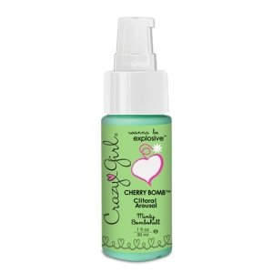 Crazy Girl Cherry Bomb Clitoral Arousal - Minty Bombshell - 1 oz.
