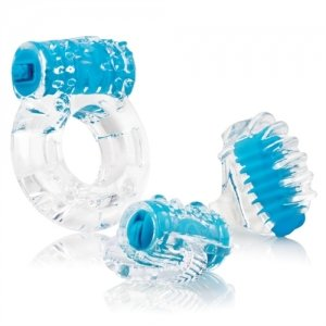 Screaming O Vibro Man - Blue  - Each