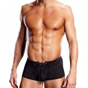 Blueline men's Performance Microfiber Lace-up Trunk
