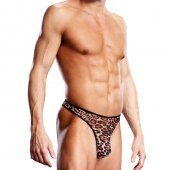 Blueline men's Pro-Mesh Leopard G-String