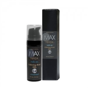 Max 4 Men Relax Calming Anal  Gel - .5 Oz.