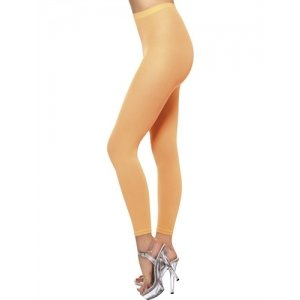 Footless Tights - Neon Orange  Fv-37151