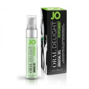 JO Oral Delight - Peppermint  Pleasure - 1 Oz.