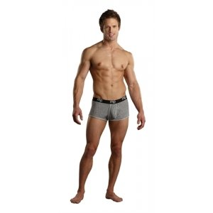 Heather Rib Enhancer Short  - Grey