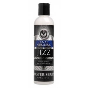 Jizz Cum Scented Anal  Desensitizing Lube - 8.25 Oz.