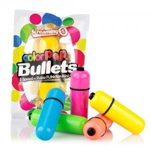 The Screaming O Color Pop  Bullets - Assorted Colors -  Each