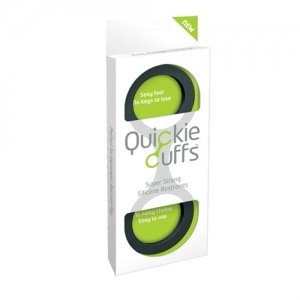 Quickie Cuffs - Black - Large