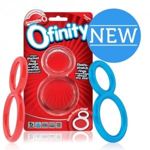Ofinity Double Ring Assorted Assorted Colors 6 Ct