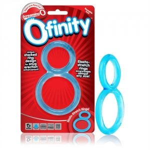 Ofinity Double Ring Blue