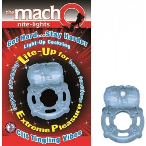 The Macho Nite Light - Blue