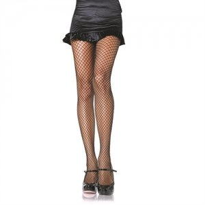 Industrial Net Pantyhose  - Black - One Size