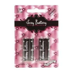 Sexy Battery AAA - 4 Pack