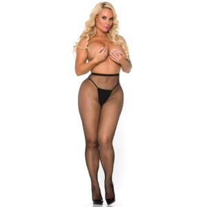 Cocolicious Pop Your Bubble  Fishnet Hose - Black - One  Size