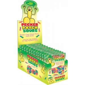 Pecker Patch Sours  - 12 Piece Counter Display
