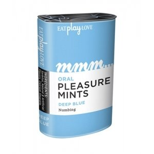 Oral Pleasure Mints - Deep Blue Rasberry Numbing