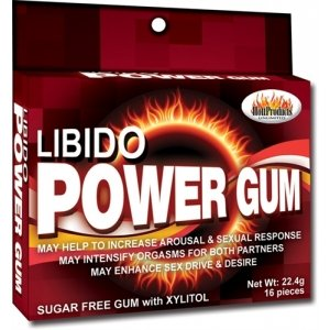 Libido Power Gum - 16 Pack