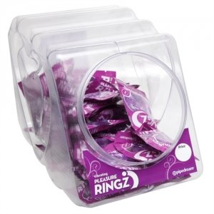 Vibrating Pleasure Rings - 36 Pieces Fishbowl