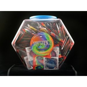 Trustex Assorted Colors -  288 Piecee Fishbowl