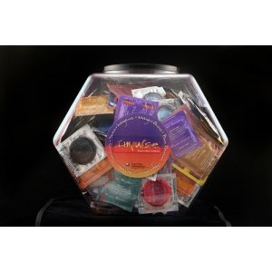 Impulse Assorted Condom Fish Bowl - 120 Count