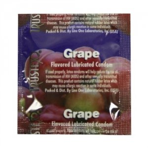 Trustex Grape Lubricated Condoms - 3 Pack