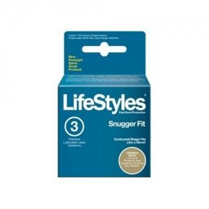 Lifestyles Snugger Fit Condoms - 3 Pack