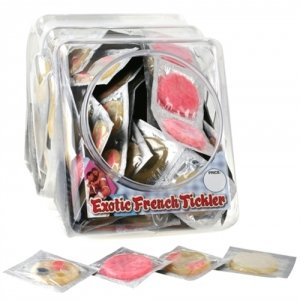 Erotic French Tickler - Bowl of 144
