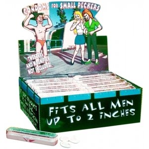 Condoms For Small Pecker - Each