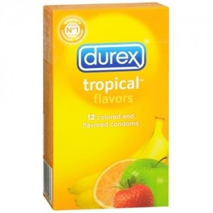 Durex Tropical Flavors - 12 Pack Pm83