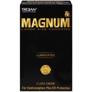 Trojan Magnum Large Condoms - 12 Pack TJ64212